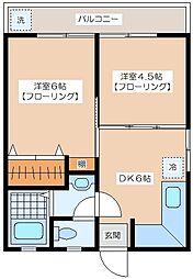 代田レジデンス[308号室]の間取り