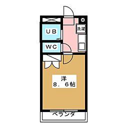 コンフォートイナリ[2階]の間取り