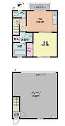 [テラスハウス] 神奈川県茅ヶ崎市今宿 の賃貸【/】の間取り