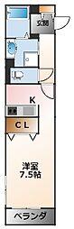 (仮称)シャーメゾン甲子園Mハイツ[1階]の間取り
