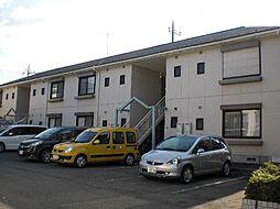 静岡県御殿場市東田中3丁目の賃貸アパートの外観