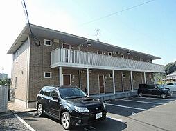福岡県北九州市八幡西区金剛1丁目の賃貸アパートの外観