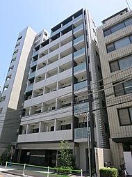 東京都港区芝浦の賃貸マンションの外観
