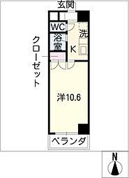 プログレッソ岩塚[3階]の間取り