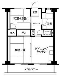 大和東共同ビル[5階]の間取り