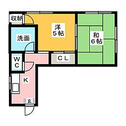 ル・メイヤー博多駅南[2階]の間取り