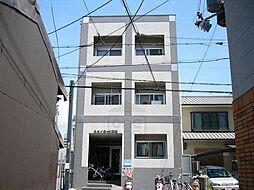 京都府京都市中京区三坊猪熊町北組の賃貸マンションの外観