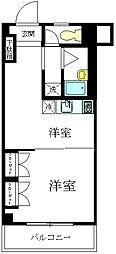 コーポ宇田[204号室]の間取り