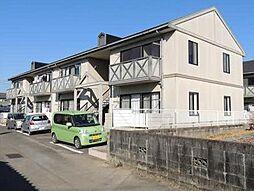 宮崎県宮崎市佐土原町上田島の賃貸アパートの外観