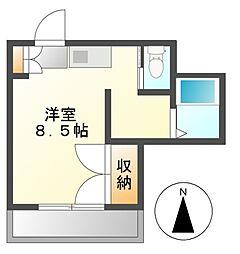 ソネットホンダ[3階]の間取り