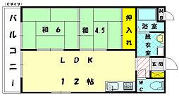第2堺ビル[5階]の間取り