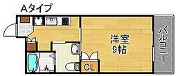 エル・セレーノ住之江[3階]の間取り