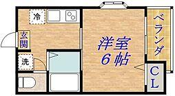 フローラルステージ成育[5階]の間取り