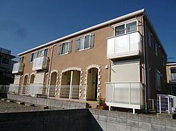 千葉県柏市東中新宿2の賃貸アパートの外観