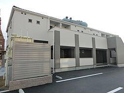 大阪府茨木市上穂東町の賃貸アパートの外観