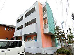 埼玉県越谷市花田1丁目の賃貸マンションの外観