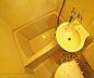 風呂,1DK,面積27m2,賃料4.3万円,京阪本線 神宮丸太町駅 徒歩17分,京阪本線 出町柳駅 徒歩19分,京都府京都市左京区吉田中大路町