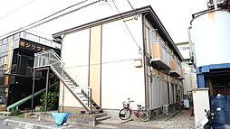 埼玉県草加市稲荷5丁目の賃貸アパートの外観