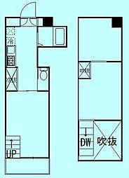 コラボレイト[3階]の間取り