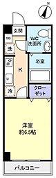 アリビオ八千代台西[8階]の間取り