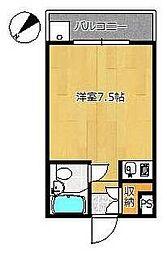 グレース北沢[1階]の間取り