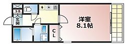 MAIN STAGE 六甲[1階]の間取り