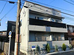 神奈川県相模原市中央区相生3丁目の賃貸アパートの外観