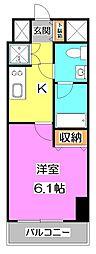 KWレジデンス高野台[9階]の間取り
