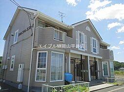 岡山県岡山市東区古都宿丁目なしの賃貸アパートの外観