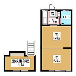 アバンティ小田原[2階]の間取り