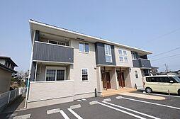 茨城県日立市川尻町1丁目の賃貸アパートの外観