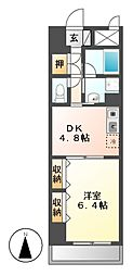 エスタシオン御器所[3階]の間取り