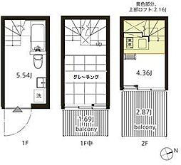 FS11538(シーサイド船橋栄町)[1階]の間取り
