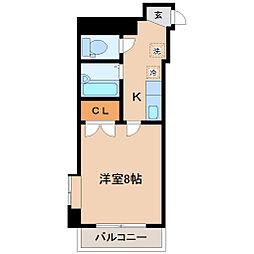 アイショウプラザ北五番丁[6階]の間取り