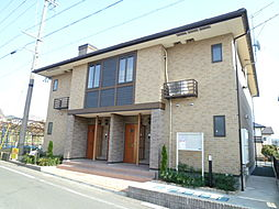 静岡県磐田市東貝塚の賃貸アパートの外観