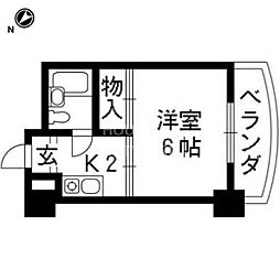 藤岡マンション[303号室号室]の間取り