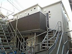 神奈川県横浜市鶴見区上の宮2の賃貸アパートの外観