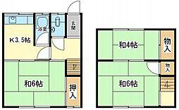 [タウンハウス] 兵庫県姫路市西今宿8丁目 の賃貸【/】の間取り