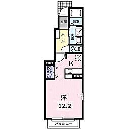 ロジュマンF[1階]の間取り