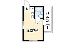 ドール本願寺[3階]の間取り