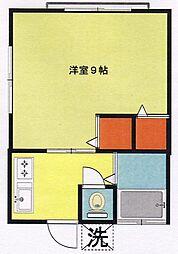 メゾンシノハラ[101号室]の間取り