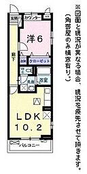 フォレストパーク・九番館[3階]の間取り