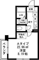 ファインフォレスト[2階]の間取り