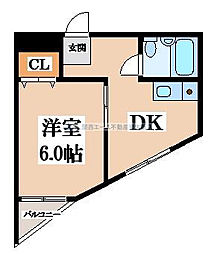 メゾン深野II[4階]の間取り