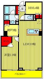 パークキューブ西ヶ原ステージ 7階1SLDKの間取り