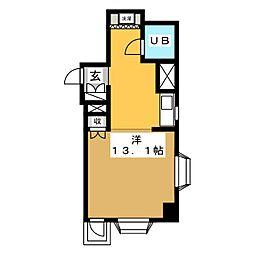 五番街ビル[5階]の間取り