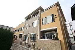 愛知県名古屋市名東区猪子石原1丁目の賃貸アパートの外観