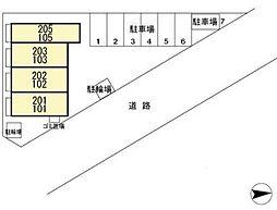 DL ウエストヒル湘南参番館 [D-ROOM][1階]の間取り