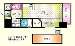 KATAYAMA BLDG20--[302号室]の間取り