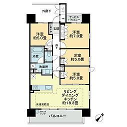 近鉄富田駅 13.5万円